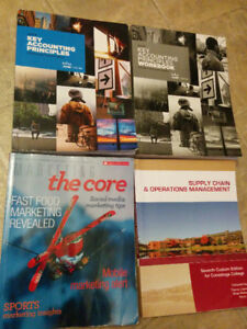 Accounting program first term textbooks