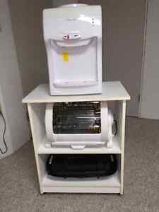 WATERCOOLER /GEORGE FORMAN ROTISSERIER/ and counter top GRILL