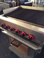 Burger Grills - New and Used - For Restaurants, Food Prep Areas