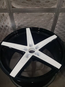 Professional Rim Painting and Refinishing services