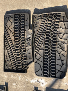 Tapis d'hiver Jeep Wrangler Unlimited 2011+