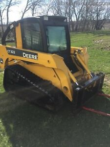 2008 John Deere CT322 Skid Steer