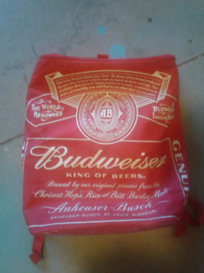 Budweiser Backpack Cooler Bag