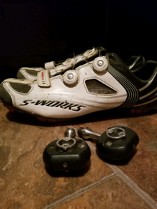 Frog Pedals and Specialized S works shoes