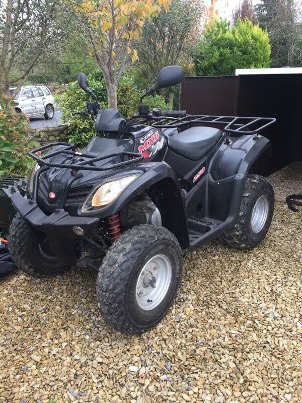 KYMCO MXU RL250 - LOW MILEAGE 2014 (64) AGRICULTURE REG