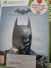 Batman Arkham Origins Xbox Game