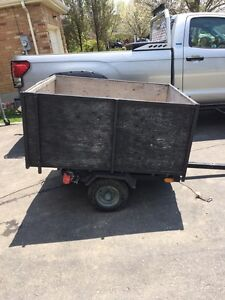 Utility trailer with ownership
