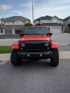 2015 Jeep Sahara Unlimted - Sunset Orange