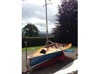 Merlin Rocket Sailing Dinghy 3398