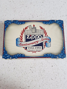 ZIPPO 60TH ANNIVERSARY COLLECTORS BOX