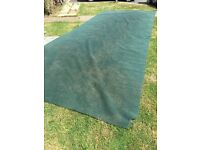 Awning carpet - breathable. 6x2.5m