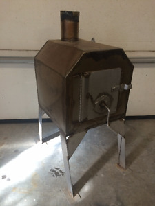 home made stanles wood stove