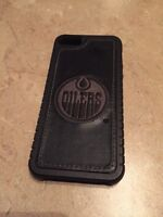 Sweet leather iPhone 5/S Oilers case.