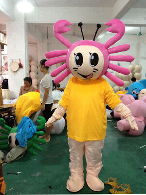 Ant Mascot Costume Outfit Cartoon Animal Cosplay Ocean Life Wonderful Best Gift