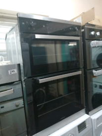 ➡️SALE⬅️ NEW GRADED BLACK LAM4405 LAMONA BUILT IN DOUBLE ELECTRIC OVEN