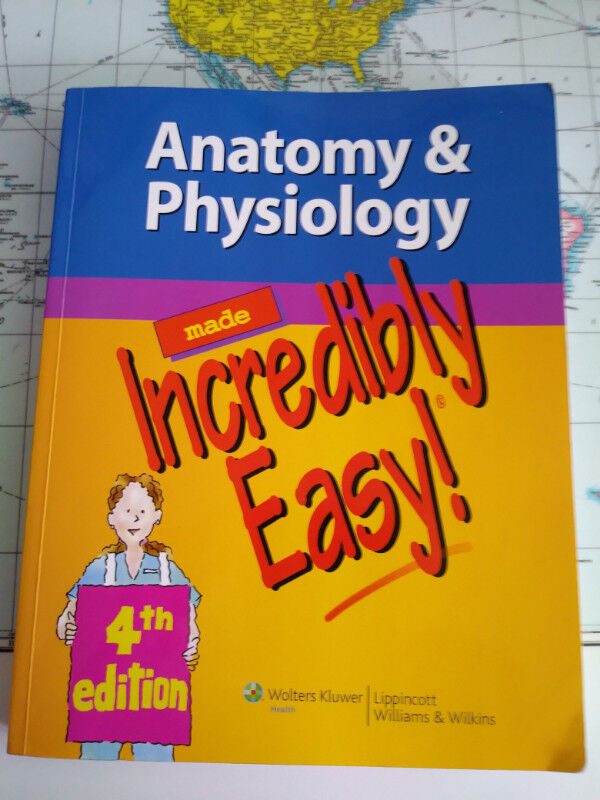 Anatomy and Physiology Made Incredibly Easy! 4th Edition   Textbooks ...