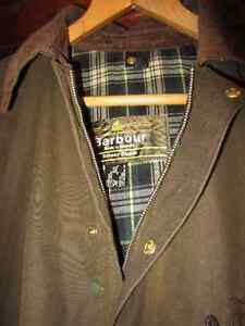 Barbour Ashby Wax Jacket Olive with Snap-on/off Hood Kingston Kingston Area image 3