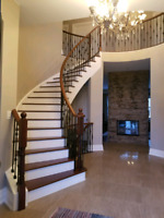 HARDWOOD AND STAIRS SPECIALIST! QUALITY FOR REASONABLE PRICE!!!
