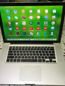 "MacBook Pro 17"" 2010 I7 4Core 2.3GHZ 8GB 500GB Fully Loaded"