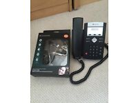 Polycom SoundPoint IP 335 Phone and EH100 Universal Binaural Telephone Headset