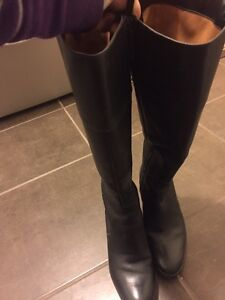 Beautiful Naturalizer wide calf boots for sale