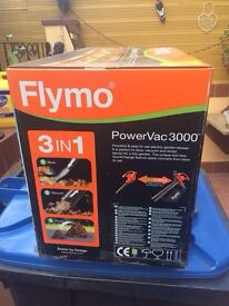 Flymo power vac brand new in box