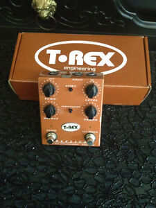 T-Rex Replica delay.