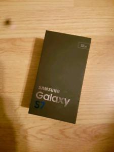 BRAND NEW SAMSUNG GALAXY S7 32GB BLACK UNLOCKED