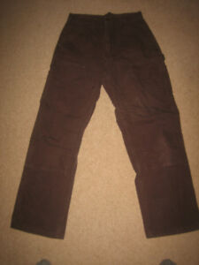 Brown Carhartts  29x30 as new, worn once