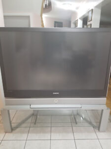Samsung DLP  TV and matching  Stand or sale