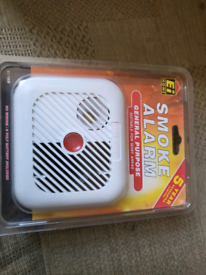 Smoke Alarm Sealed New