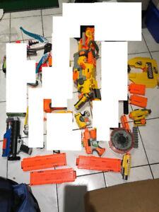 ~Excellent conditon~ Nerf machine gun switch raider deploy vulca