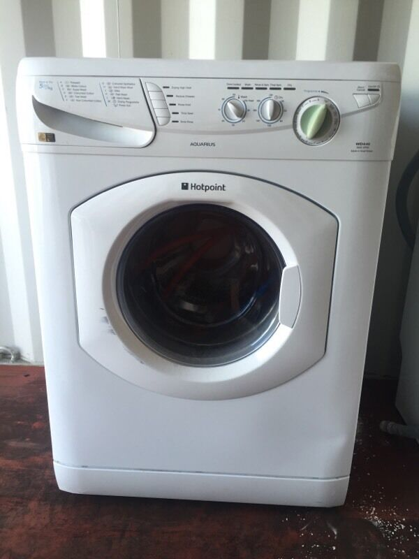Hotpoint Aquarius Wd440 Washer Dryer Combo 1400 Spin 5 5