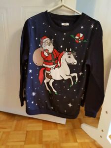 Ugly christmas sweaters grandeur Small et x small