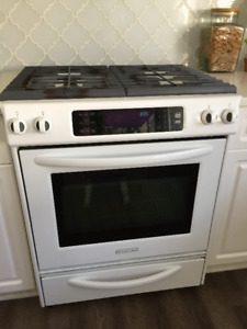 "KITCHEN AID 30"" GAS STOVE"