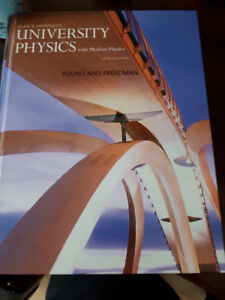 University Physics with Modern Physics 14th ed.