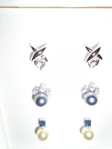 3 NEW Pairs of New Earrings   for sale