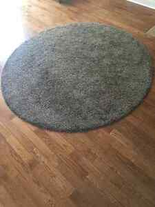 Rug, high pile, rounded body carpet.