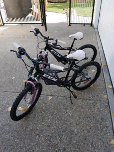 """20"""" girls mountain bikes"""