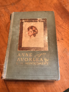 L.M. Montgomery Hard cover novels early 1900's.