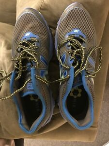 New Balance running shoes - worn once. Men's size 10.5
