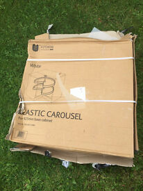 REDUCED B&Q plastic carousel 925mm base unit for