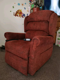 Electric rise and recline chair with dual motor, can be delivered