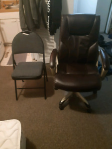 Selling 2 chairs for $80 - not negotiable