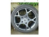 Ford transit alloys wanted 16 or 18 inch