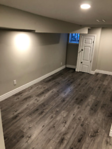 SPACIOUS and NEW 1bedroom BASEMENT apartment for RENT