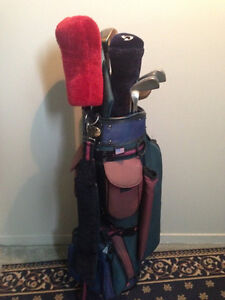 Set bâtons golf avec sac
