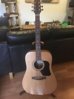 Walden acoustic guitar with adjustable stand