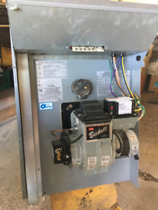 oil-fired furnace, Bryant,, with Beckett motor, Model AFG