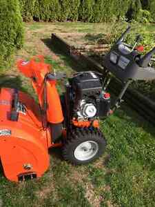 huscavarna snowblower